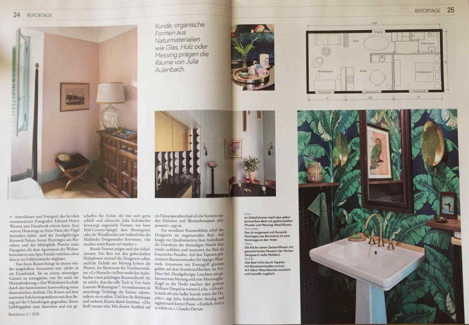 Julia Aulenbacher - Interiors +++ nzz residence 3